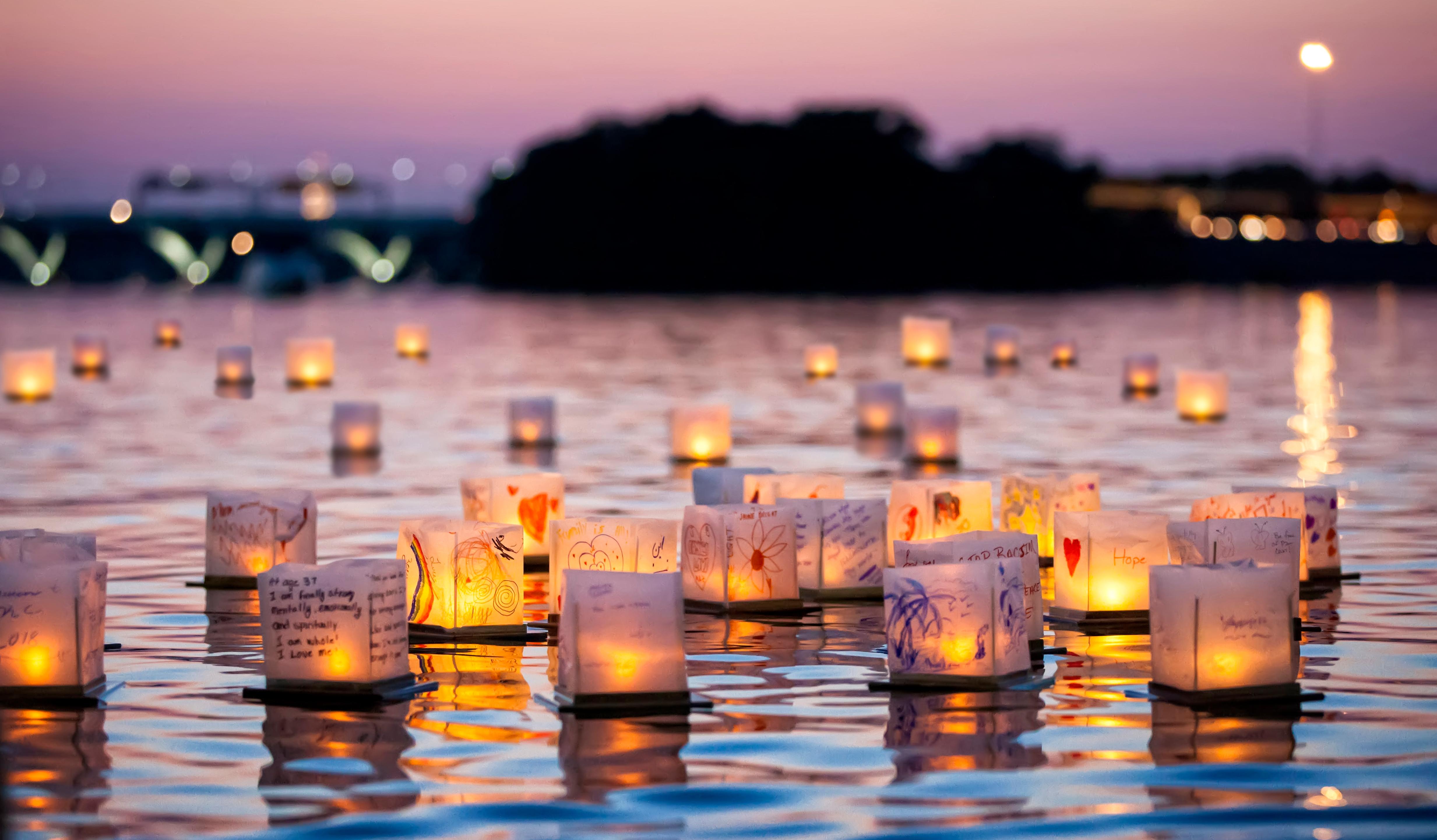 Water Lantern Festival Press