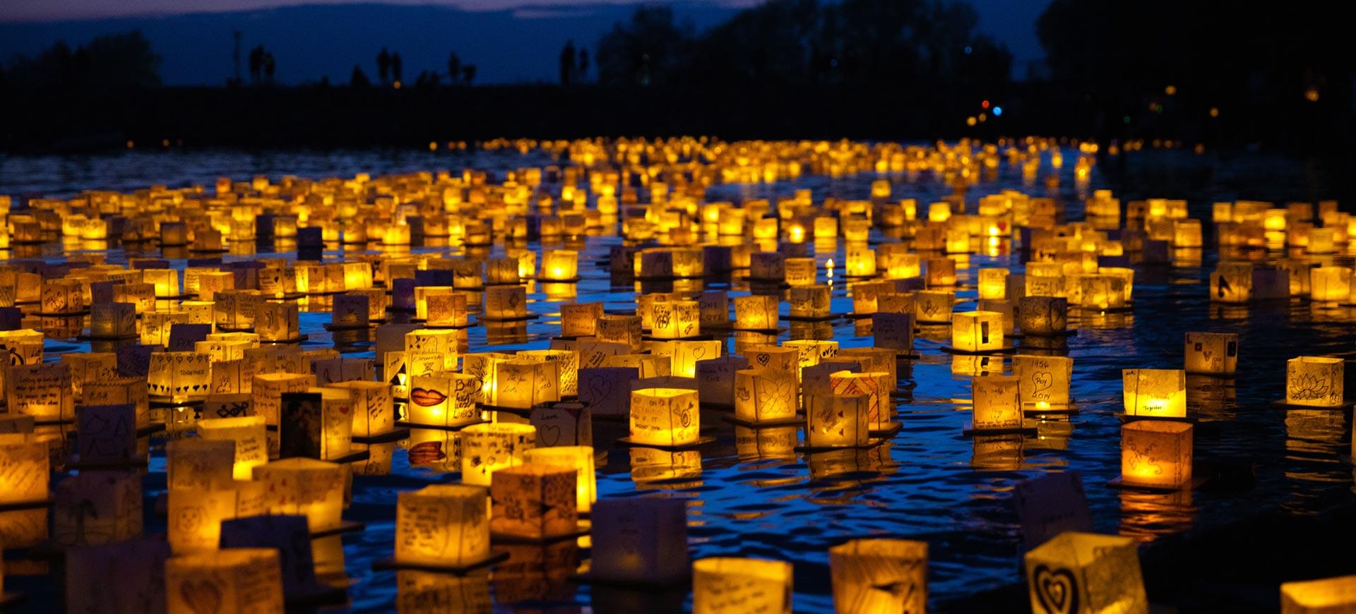 Water Lantern Festival | Tickets on Sale